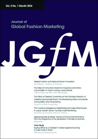 Journal of Global Fashion Marketing template (Taylor and Francis)