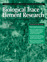 Biological Trace Element Research template (Springer)