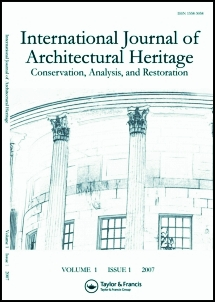 International Journal of Architectural Heritage template (Taylor and Francis)