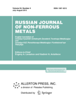 Russian Journal of Non-Ferrous Metals template (Springer)