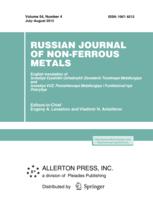 Russian Journal of Non-Ferrous Metals template (Springer)