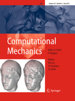 Computational Mechanics template (Springer)