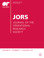 Journal of the Operational Research Society template (Springer)