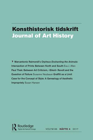 Konsthistorisk tidskrift/Journal of Art History template (Taylor and Francis)