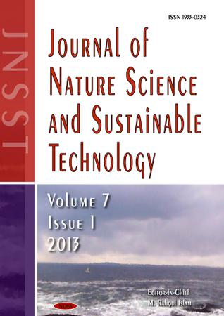 Journal of nature science and sustainable technology investments berezny investments that shoot
