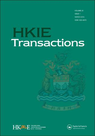 HKIE Transactions template (Taylor and Francis)