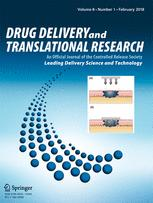 Drug Delivery and Translational Research template (Springer)