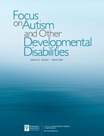Focus on Autism and Other Developmental Disabilities template (SAGE)