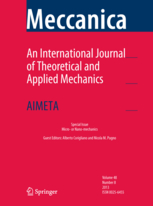 Meccanica template (Springer)