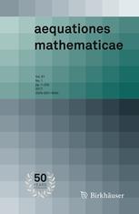 Aequationes mathematicae template (Springer)