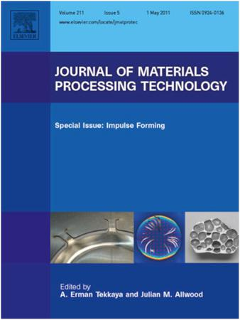 Journal of Materials Processing Technology template (Elsevier)