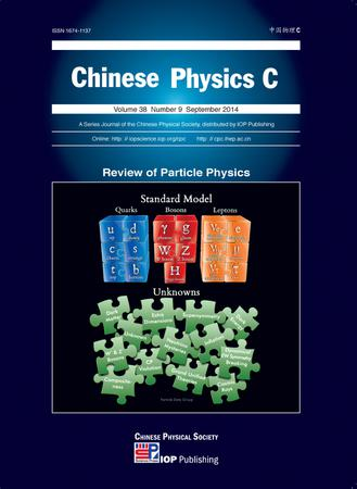 Chinese Physics C template (IOP Publishing)