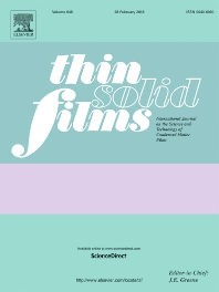 Thin Solid Films template (Elsevier)