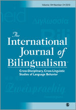 International Journal of Bilingualism template (SAGE)