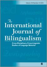 International Journal of Bilingualism template (SAGE)