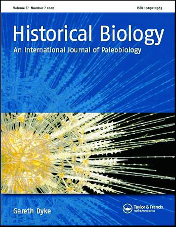 Historical Biology template (Taylor and Francis)