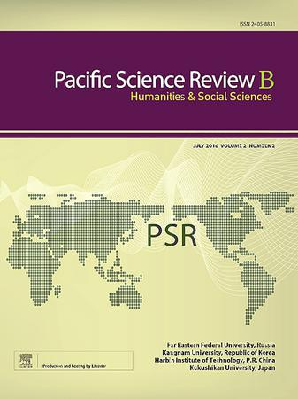 Pacific Science Review B: Humanities and Social Sciences template (Elsevier)
