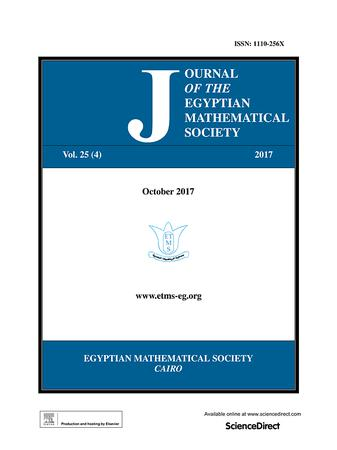 Journal of the Egyptian Mathematical Society template (Elsevier)
