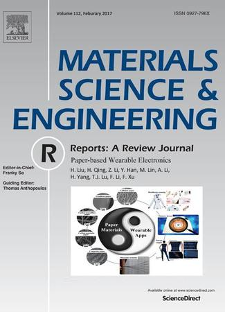 Materials Science and Engineering: R: Reports template (Elsevier)