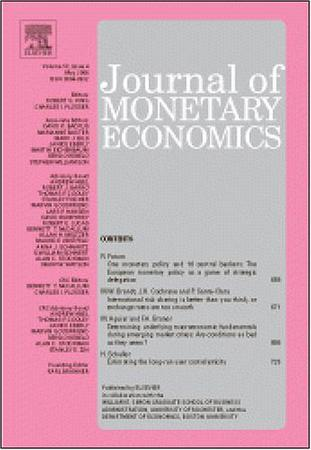 Journal of Monetary Economics template (Elsevier)