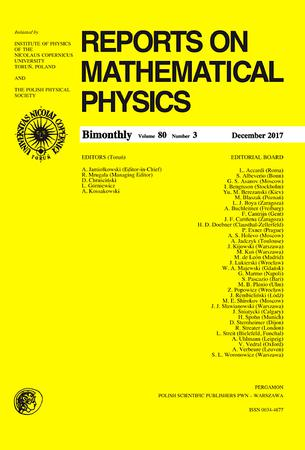 Reports on Mathematical Physics template (Elsevier)