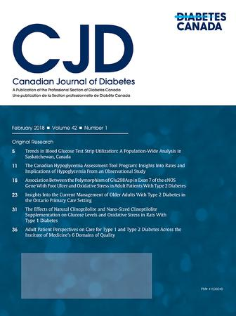Canadian Journal of Diabetes template (Elsevier)