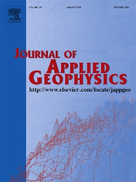 Journal of Applied Geophysics template (Elsevier)