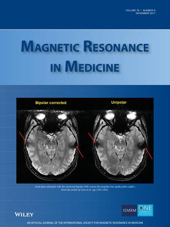 Magnetic Resonance in Medicine template (Wiley)