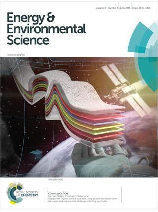 Energy and Environmental Science template (Royal Society of Chemistry)