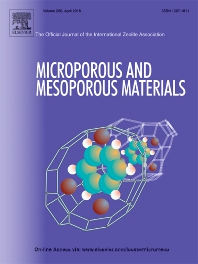 Microporous and Mesoporous Materials template (Elsevier)