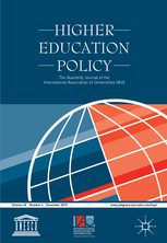 Higher Education Policy template (Palgrave Macmillan)