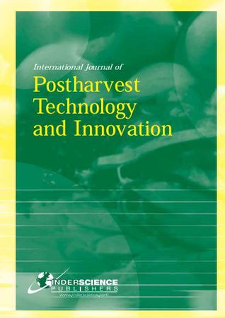International Journal of Postharvest Technology and Innovation template (Inderscience Publishers)