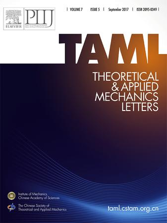 Theoretical and Applied Mechanics Letters template (Elsevier)