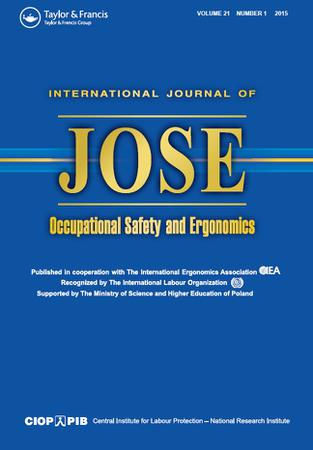 International Journal of Occupational Safety and Ergonomics template (Taylor and Francis)