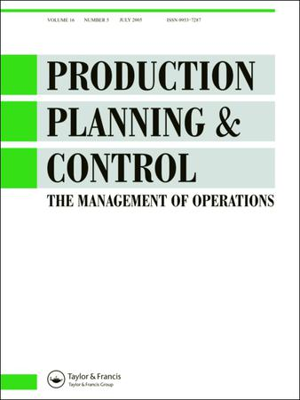 Production Planning and Control template (Taylor and Francis)