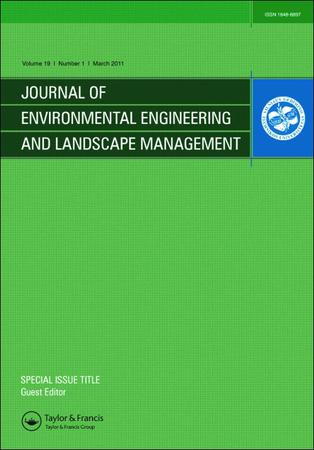 Journal of Environmental Engineering and Landscape Management template (Taylor and Francis)
