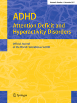 ADHD Attention Deficit and Hyperactivity Disorders template (Springer)
