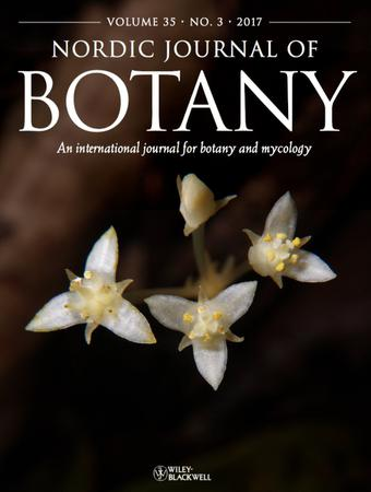 Nordic Journal of Botany template (Wiley)