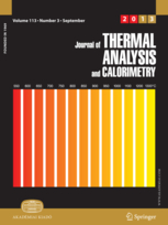 Journal of Thermal Analysis and Calorimetry template (Springer)
