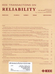 IEEE Transactions on Reliability template (IEEE)
