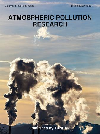 Atmospheric Pollution Research template (Elsevier)