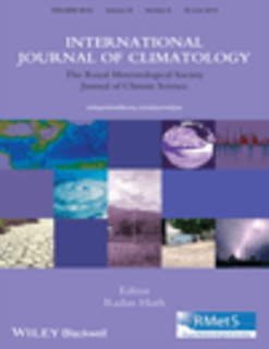 International Journal of Climatology template (Wiley)