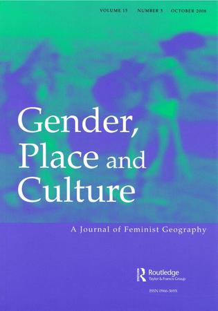 Gender, Place and Culture template ( Place and Culture)