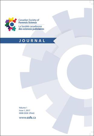 Canadian Society of Forensic Science Journal template (Taylor and Francis)