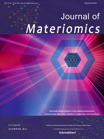 Journal of Materiomics template (Elsevier)
