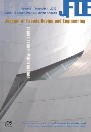 Journal of Facade Design and Engineering template (IOS Press)