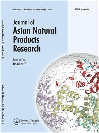 Journal of Asian Natural Products Research template (Taylor and Francis)