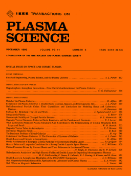 IEEE Transactions on Plasma Science template (IEEE)