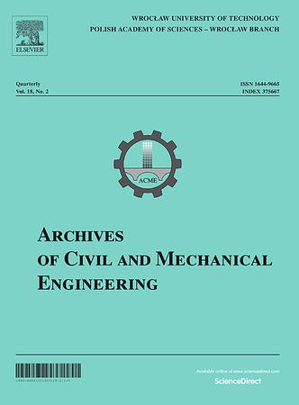 Archives of Civil and Mechanical Engineering template (Elsevier)