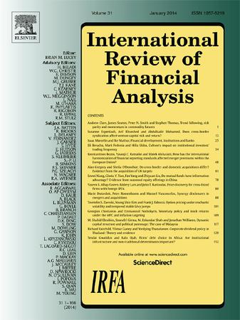 International Review of Financial Analysis template (Elsevier)